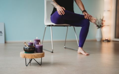 Stoel / easy yoga